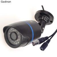 Precio de Noche carcasa de la cámara de visión-HD 1/3 '' CMOS 1000TVL 3.6mm lente IR-CUT de la visión nocturna de vigilancia de seguridad de la bala impermeable al aire libre del CCTV Cámara de Vivienda ABS
