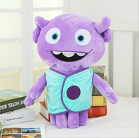 amazing mascots - Hot Sale Dreamworks Home Movie Plush Toys Super Amazing Aliens Tip Mascot Captain Boov Stuffed Toy Doll Gift For Kids