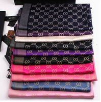 Wholesale US and European high grade gold and silver letters scarves scarf shawl dual long oversized scarves