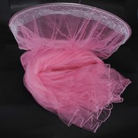 Cheap New Arrival Home Room For Pink Elegant Bed Mosquito Netting Mesh Canopy Princess Round Dome Bedding