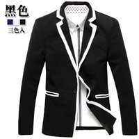 Wholesale 2016 new Recommended fashion edge man small suit Han edition cultivate one s morality men s cultivate one s morality type small suit
