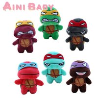 Wholesale Teenage Mutant Ninja Turtle Plush Toy For Child Doll Stuffed Toy For Baby Plush Doll Gift For Kid Toy Hobbie Brinquedo Juguete