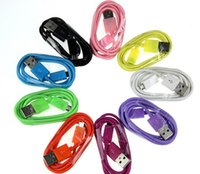 Wholesale Micro USB Cable for Galaxy S3 S4 Note S3 Cord Adapter for HTC Blackberry Sync Charge M Colorful