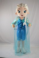 Wholesale Elsa mascot costume Lovely blue Aisha mascot costume High Quality Valentine s Day costumes audlt size fancy dress