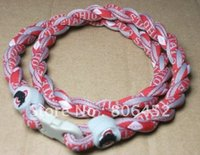 michigan - DHL college football Michigan ohio state ropes tornado titanium sport twist necklace