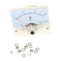 analog panel voltmeter - DC V Analog Voltmeter Voltimetro Analog Panel Meter Tester For Experiment Or Home Use order lt no track