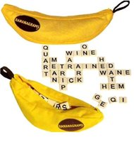 board game pieces - Bananagrams Pieces English Letter Word Game Children Bananagrams Word Puzzle Spelling Scrabble Board Game