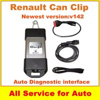 best high performance cars - Best Quality Can Clip Renault V142 Diagnostic Scanner High Performance Auto Car OBD2 Newly V142 For Renault