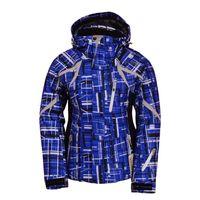 Wholesale winter ski jacket women sport brand windproof waterproof blue rossignol warm suits snow colorful snowboard