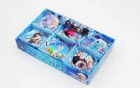 Wholesale New Sale Box The stationery school supplies prize rubber Frozen erasers