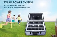 home solar power system - 20W solar panel With W V V pure sine Inverter portable solar power system for outdoor home use