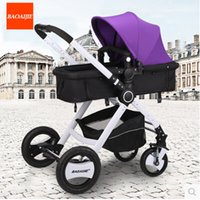 Wholesale Stroller high landscape of portable trolley can sit lie portable folding four wheel shock children s baby stroller