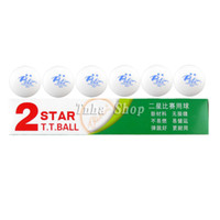 Wholesale 18Pcs Palio New Material Seamless Star Star Star White Table Tennis Ping Pong Balls
