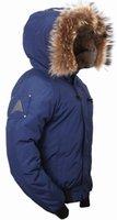 alaska jacket - Fall Alaska mens winter jackets and coats down coat jacket Navy