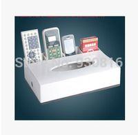 advanced room - Advanced multifunctional smoke box to Hotel or KTV ordesktop hands cartons Table tissue box h1