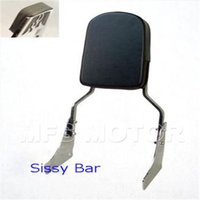 ace sissy bar - motorcycle parts Flame Backrest Sissy Bar Leather Pad For Honda Shadow ACE