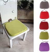 bamboo dining chairs - Hot Sale fashion winter Autumn Dining Garden Patio Home Office Kitchen Chair Seat Cushion Pads HG