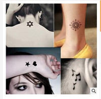 Wholesale 2015 Temporary Tattoos styles Health Beauty Body Art Temporary Tattoos DHgate Tattoo Sticker Women Jewelry Tattoo Waterproof