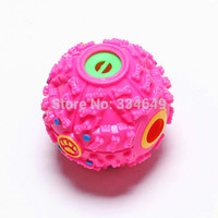 best food cats - Quack Sound Toy Chew Treat Fun Ball Pet Dog Cat Food Squeaky Squeaker Best Selling