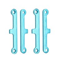 atv suspension parts - 2 Set Upgrade Parts Blue Aluminum Suspension Arm Pad for HSP Car Buggy ATV Truck Truggy Cars order lt no track