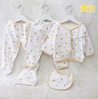 Wholesale Baby underwear piece set newborn five pieces set months old cotton baby clothes spring and summer underwear set