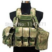 Wholesale Have Duty Camo Interceptor Tactical Vest Colete Airsoft Tactical Molle Body Armor Combat Plates Vest Multicam Military Uniform