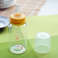 Wholesale Baby feeding Bottles oz ml HBG glass Baby Self Control Milk Flow Nipple