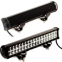al por mayor 18 led de conducción barra de luz-18inch 36pcs * 3W 108W LED barra de luz LED trabajo luz de la barra de camiones todoterreno SUV ATV 4X4 4WD barco LED luz de conducción luz antiniebla