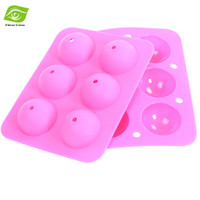 candy molds - Baking Tools Lollipop Mold Candy Silicone Molds Holes Round Silicone Cake Pan dandys