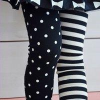 Wholesale Kids Girls Toddlers Polka Dot amp Stripe Leggings Render Pants Trousers Y