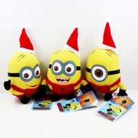 minions - Despicable Me plush Red Minion quot christmas minions Plush toy Doll toys Cute toy