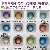 Wholesale and LENS CASE CB0638 price TONE yearly fresh colorblends color contact lens colors