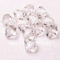 acrylic bicone beads - chunky bubblegum beads mm Clear Transparent Acrylic Bicone Beads