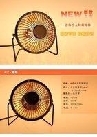 Precio de Air heater-4 pulgadas de hierro mini-mini-calentadores solares de escritorio pequeño calentador caliente del ventilador del soplador de aire del calentador calefactor estufa eléctrica A3