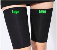splint - New thigh Leg Running Compression Sleeve Socks Shin Splint Support Brace Compression Socks Running Sports