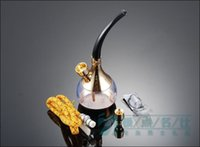 arabic smoking pipe - Personal Arabic Shisha Cigarette Holder Water Smoking Filter Pipe Hookah Circulation Cigarette Gift Box