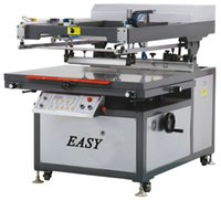 automatic vaccum - Tilted arm Flat Bed Screen Printer with Vaccum Table Semi automatic flat screen printing machine Flat screen printing machine