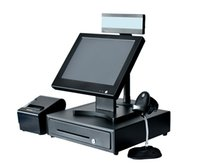Wholesale ultrathin design inch touch screen point of sale pos system for retail shop restaurant pos