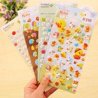 Wholesale 8 shipping Korean version of the creative PVC cartoon stickers creative three dimensional bubble sticker Sticker
