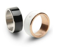 Wholesale TimeR Smart Intelligent Ring for NFC Android WP Mobile phones smart wearable device Multifunction Magic Ring for Samsung LG