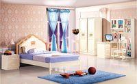 Wholesale Luxury Wood Children House Furniture Bedroom Furniture wood furniture Bed desk wardrobe Best Child Furniture MYL6602