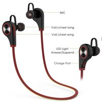 apple iphone stream - Bluetooth Earphones Wireless Sports Headsets Running Earbuds For Iphone Samsung BlueTooth Headphones Hands Free Talking Music Streaming