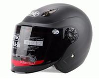 Wholesale Motorcycle helmets YOHE Half Face helmet Electric bicycle helmets summer Motorcycle helmet motorbike helmet made of ABS