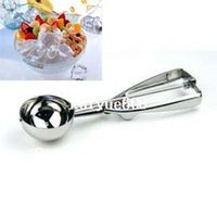 Wholesale Stainless Steel cm Scoop for Ice Cream Mash Potato Food Spoon Kitchen Ball