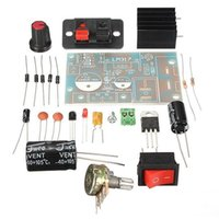 Wholesale SO The Lowest New DIY Kit LM317 Adjustable Regulated Voltage Step down Power Supply Suite Module A5