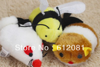 bee mouse - pet cat toy vibration moving bee mouse mixed styles