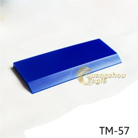 aluminum window replacement - 5 cm squeegee High Quality car wrap tool window tint tool Blue squeegee blades Replacement rubber squeegee blade