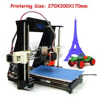Wholesale LCD Screen Aurora Impressora Partilhada Model DIY KIT Reprap Prusa I3 High Accuracy D printer kit mm