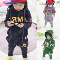 Wholesale Boys Clothing Sets Children s Suits Autumn And Winter Long Sleeved Sport Suit Baby Clothes Kids Wear SV007695
