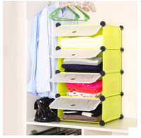 Wholesale Environmental lockers simple folding wardrobe closet plastic storage cabinets plastic storage cabinet assembly